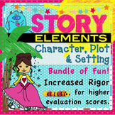 Story Elements (Grades 2 - 5) Character, Setting, and Plot