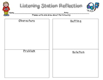 Story Elements Listening Station Reflection