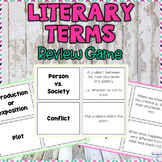 Story Elements, Literary Terms and Figurative Language Rev
