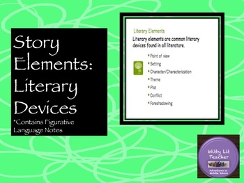 Story Elements (Literary Devices)
