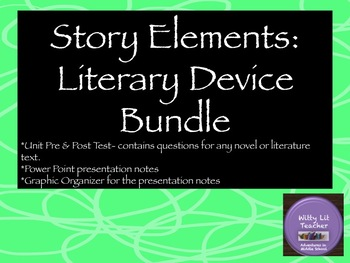 Story Elements (Literary Devices) BUNDLE