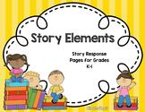 Story Elements Literature Response