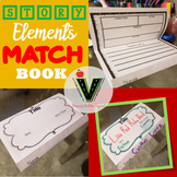 Story Elements Match Book Foldable