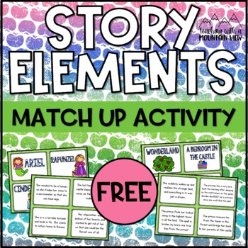 Story Elements Match Up FREE