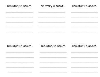 Story Elements Mini Book