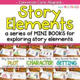Story Elements Mini Books for Character Plot Setting BUNDLE