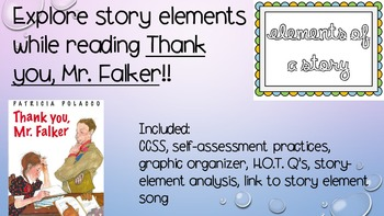 Story Elements Mini Lesson--Thank you Mr. Falker