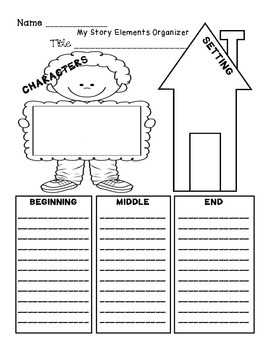 Story Elements Organizer