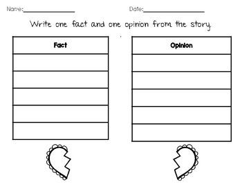 Story Elements Organizer for February (English Edition)