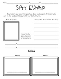 Story Elements Organizer for any book