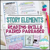 Story Elements Paired Passages