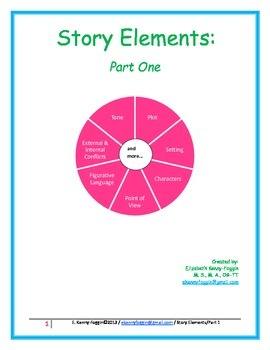 Story Elements: Part One