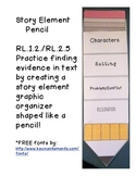 Story Elements Pencil Project