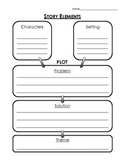 Story Elements: Plot and Theme Graphic Organizer