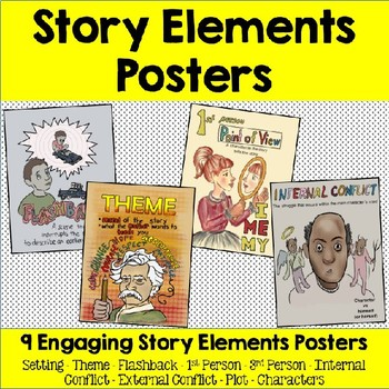 Story Elements Posters / Anchor Charts
