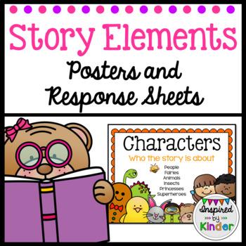 Story Elements Kindergarten