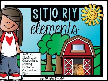 Story Elements Poster Set