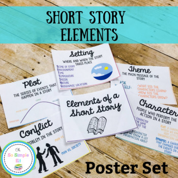 Story Elements Posters