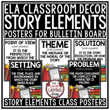 Reading Story Elements Posters & Anchor Charts