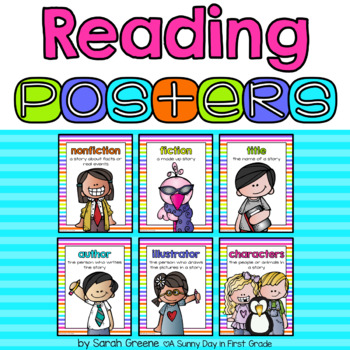 Reading Posters {11 posters!}