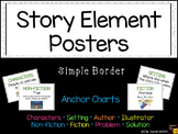 Story Elements Posters ~ Anchor Charts