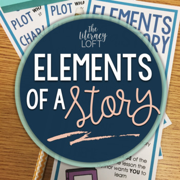 Story Elements {Posters + Bookmark}