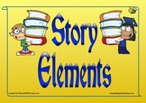 Story Elements Posters (Yellow)