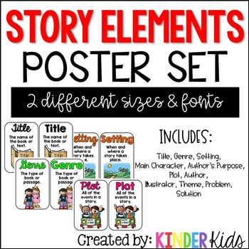 Story Elements Posters and Cards
