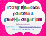 Story Elements Posters and Graphic Organizer