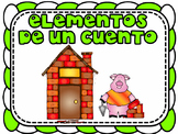 Story Elements Posters and Reading Response Sheets in Spanish