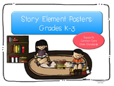 Story Elements Posters for Grades K-3