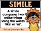 Figurative Language Posters for the Classroom - Reading Comprehension
