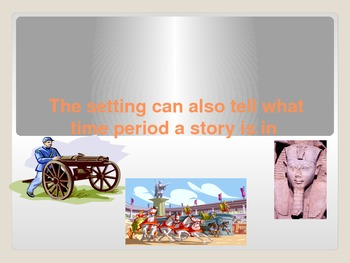 Story Elements PowerPoint with basic information