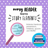 Story Elements Activities, Foldables, Notes, KAHOOT, & more!