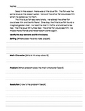 Story Elements Practice