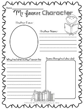 Story Elements Printables and Mini-Posters