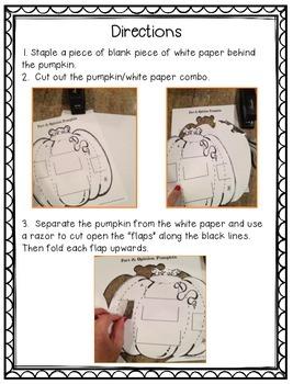 Story Elements Pumpkin