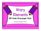 "QR Code Scavenger Hunt ""Story Elements"""