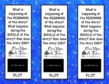 Story Elements Questions (Bookmarks)