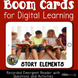 Story Elements Reading Comprehension Boom Cards