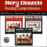 Story Elements Reading Comprehension | Boom Cards and Printable