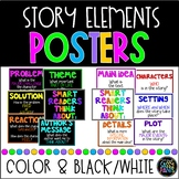 Story Elements Reading Posters