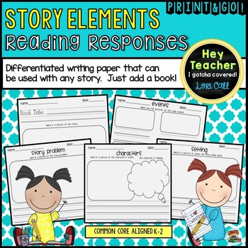 Story Elements & Reading Responses