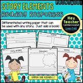 Story Elements & Reading Responses
