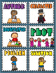 Story Elements Reading Writing Matching Game (Character, Plot, Setting, Problem)