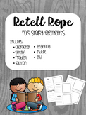 Story Elements Retell Rope