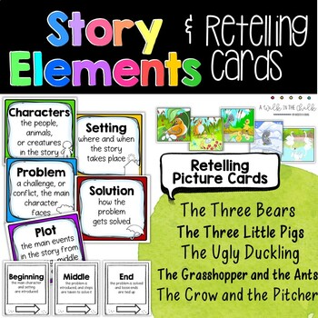 Story Elements Retelling Cards