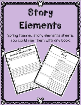 Story Elements Review
