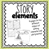 Story Elements- Setting, Plot and Character Pictures