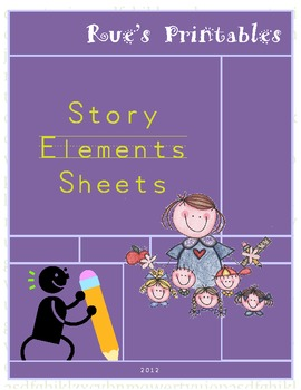 Story Elements Sheets